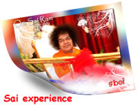 Experience of Sai devotee -A Former Student of Swami's Institute