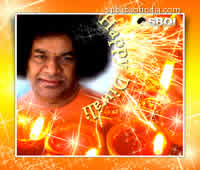 Sai Baba theme Diwali (Deepavali) Greeting cards & wallpapers
