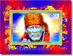 Latest Digitally enhanced High resolution, large size 1600 x 1200 Photo of Original Shirdi Sai Baba Murthi (Statue) from Shirdi, Samadhi Mandir - desktop wallpaper-